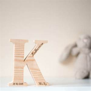 personalised wooden letters by wendover wood With personalised wooden letters