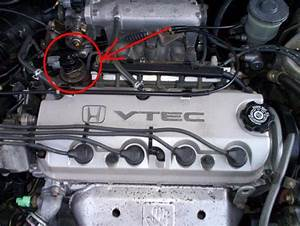 Where Is The Egr Valve Located  - Honda-tech
