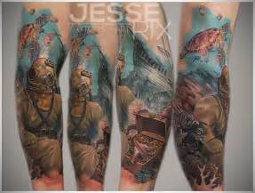 Fish Underwater Tattoo