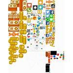 Spriters Resource Sheet Miitomo Previous Icons