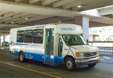 Shuttle Ride To Airport by Daniel K Inouye International Airport Intra Airport