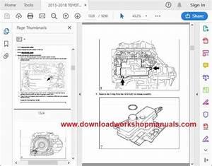 Toyota Rav4 Service Repair Workshop Manual