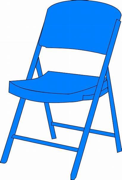 Chair Clip Clipart Folding Chairs Fold Cartoon
