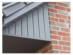 Dachüberstand Verkleiden Material : groja fassadenverkleidung gj200 basaltgrau fassadenverkleidung ~ Orissabook.com Haus und Dekorationen