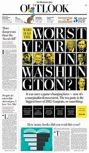 Who had the worst year in Washington? - Newspaper Design ...