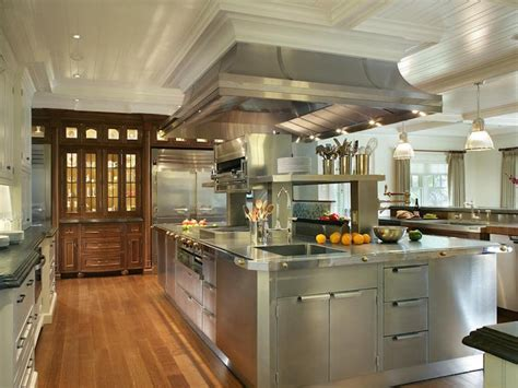oversized kitchen island oversized stainless steel center island with stacked warming drawers traditional kitchen
