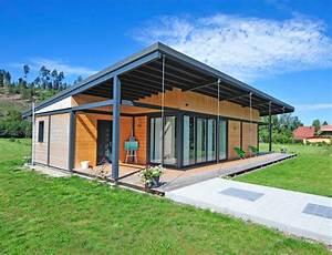 Type De Sol Maison : maison bois plain pied type loft nos maisons ossatures bois maison plain pied ~ Melissatoandfro.com Idées de Décoration