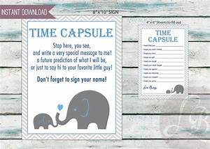 baby time capsule baby shower game dear baby 3 files With baby time capsule letter