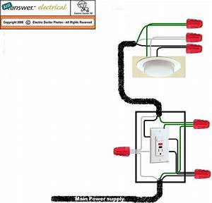4 Best Images Of Gfci Switch Outlet Combo Diagram