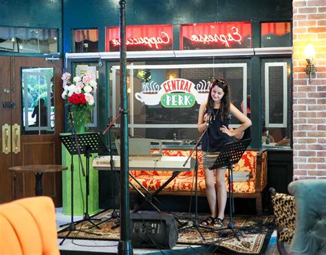 central perk singapore friends themed cafe  real