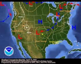 NOAA National Weather Map