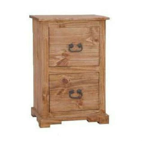 rustic  drawer file cabinet western real solid wood cabin