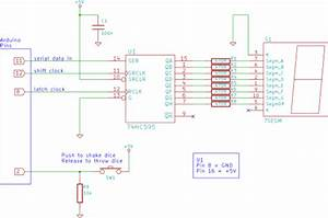 Tutorial 19  Arduino Dice Circuit And Sketch Using A 7
