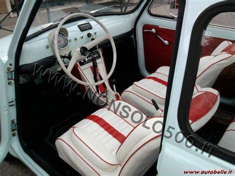 Tappezzeria 500 Epoca by Vendo Interni Tappezzeria Sportiva Fiat 500 Epoca Dflr