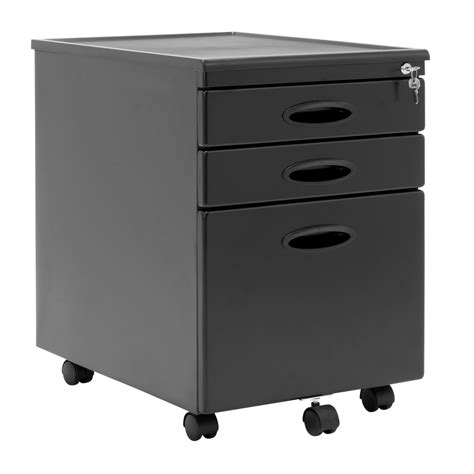 3 drawer organizer mobile file cabinet calico designs home office furniture storage 3 drawer