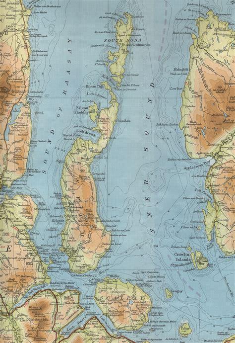 raasay map