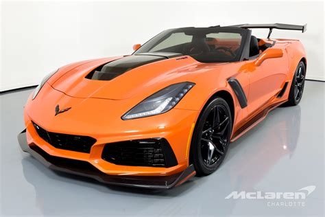 2019 Chevrolet Zr1 Price by Used 2019 Chevrolet Corvette Zr1 For Sale 129 996