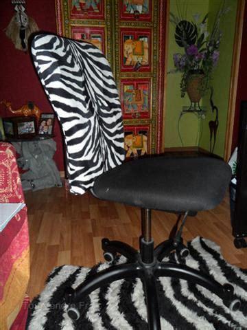 chaise zebre chaise de bureau zebre