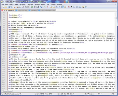 html document source files update qa productions