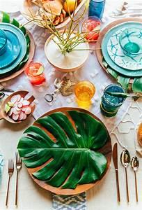 Deco Table Tropical : party perfect diy summer party decor ~ Teatrodelosmanantiales.com Idées de Décoration
