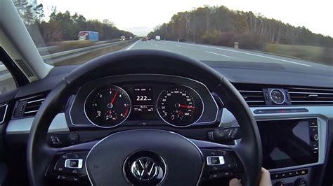 Passat Tdi Pov Autobahn Top Speed Run Youtube