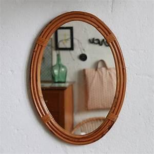 Petit Miroir Rotin : miroir rotin d coration vintage atelier du petit parc ~ Melissatoandfro.com Idées de Décoration