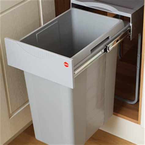 kitchen cabinet trash bin built in waste bins kitchen wow 5838