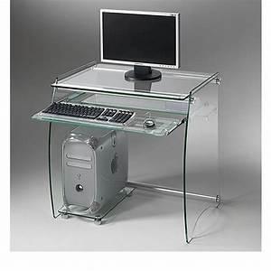 Computertisch Glas Ikea : clear computertisch aus metall ablagen und herausziehbare tastaturablage aus glas sediarreda ~ Markanthonyermac.com Haus und Dekorationen