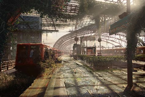 berlin hauptbahnhof post 23 chilling images of what our planet would look like after an apocalypse