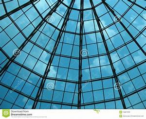 Glass Dome Of A Modern Building Stock Image - Image: 15607233