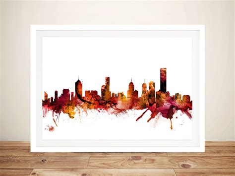 wall decor melbourne buy wall featuring melbourne s skyline willagee perth