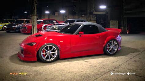 mazda mx 5 tuning need for speed mazda mx 5 2015 tuning showcase update