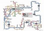 五合一!日本設計台灣鐵路地圖 神整合兩鐵、三捷和一輕軌   生活   三立新聞網 SETN.COM
