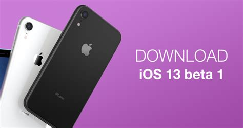 How to install iOS 13 beta 1 on your iPhone or iPad right now