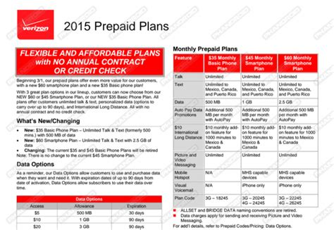 verizon prepaid phone plans verizon reportedly adding a 60 prepaid plan with 2 5gb of