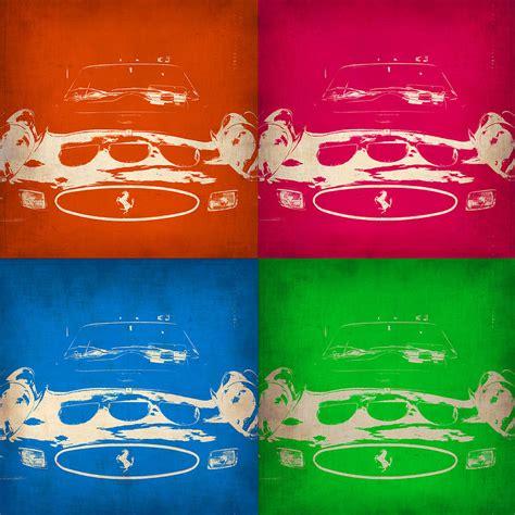 Check out amazing ferrari artwork on deviantart. Ferrari Front Pop Art 4 Painting by Naxart Studio