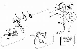 got a 1998 evinrude two stroke oil injectioned 40 hp With diagram evinrude gas tank parts johnson outboard fuel pump diagram