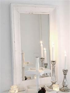 Weißer Spiegel Vintage : vintage wandspiegel gustav wei antik spiegel shabby chic badspiegel landhaus ebay ~ Markanthonyermac.com Haus und Dekorationen