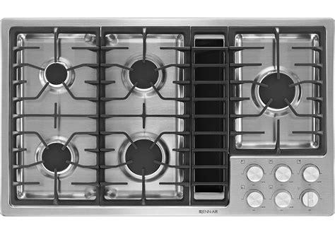 jenn air gas downdraft cooktop jenn air 36 quot jx3 gas downdraft cooktop jgd3536bs