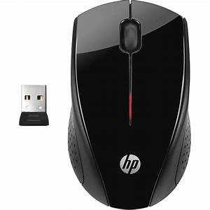 Hp X3000 Wireless Mouse  Black  H2c22aa Abl B U0026h Photo Video