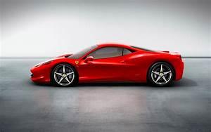 Ferrari 458 Italia Red - 2560x1600