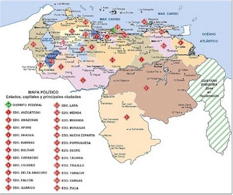 Proyecto Ensayo Hispánico: contexto geográfico, Venezuela