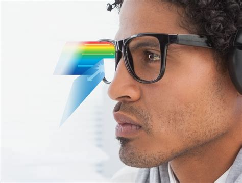 glasses that filter out blue light protect your vision blue light exposed