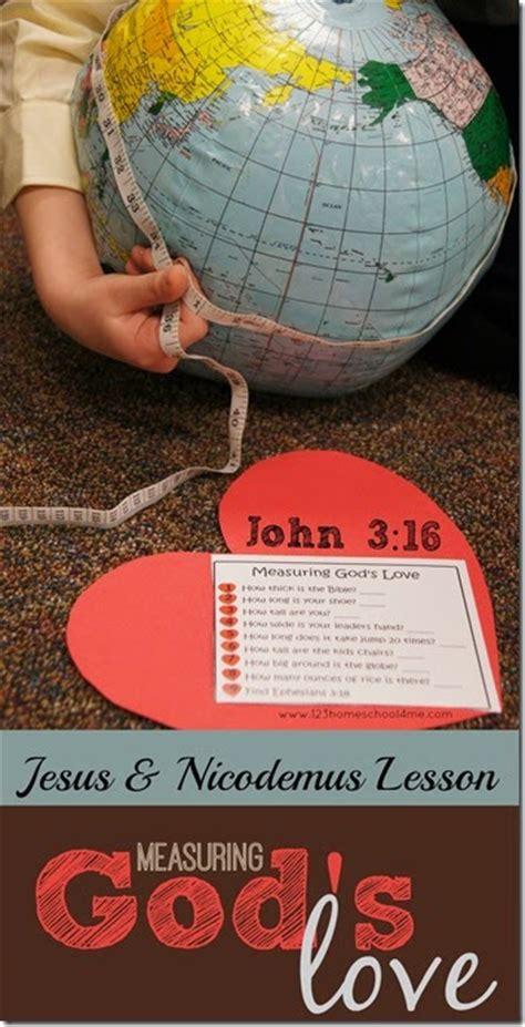 measuring gods love lesson  printable set  homeschool deals