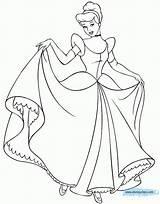 Cinderella Coloring Printable Disney Malvorlagen Princess Printables 월트 Octopus Sheets Kerra Everfreecoloring sketch template