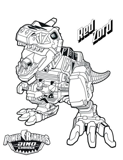 power ranger dino force coloring pages  kids