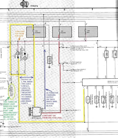 85 toyota 4runner wiring diagram fuse box and wiring diagram