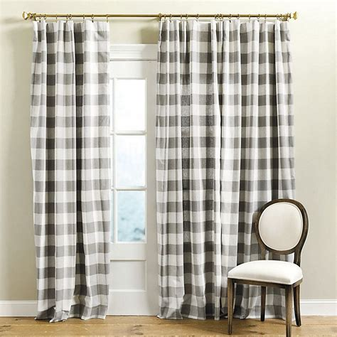 Plaid Drapery Panels by Buffalo Check Panel Products Drapery Curtains