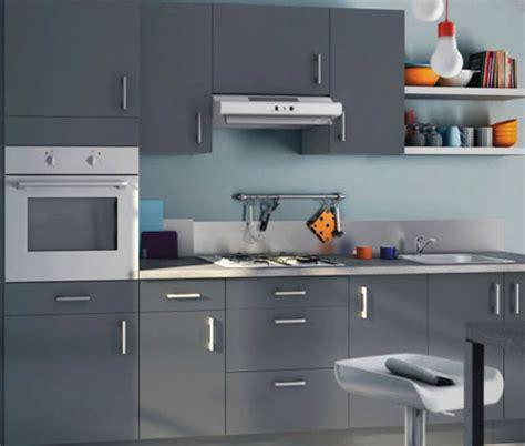 cuisine moderne grise déco cuisine moderne grise