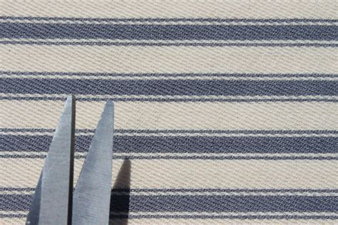 100% Cotton Woven Ticking Stripe Deck Chair Furniture